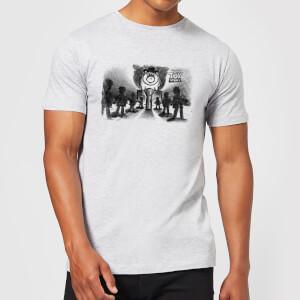 Toy Story Evil Dr Pork Chop Speech Herren T-Shirt - Grau