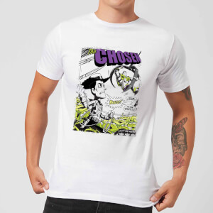 Toy Story Comic Cover Men's T-Shirt - White