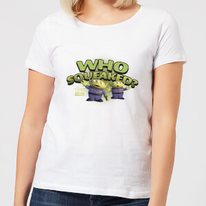 Toy Story Who Squeaked Women's T-Shirt - White