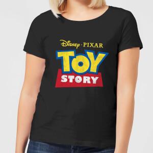 T-Shirt Femme Logo Toy Story - Noir