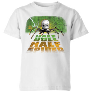 Toy Story Half Doll Half-Spider Kids' T-Shirt - White