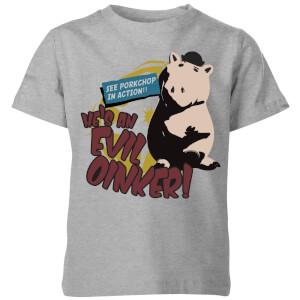 Toy Story Evil Oinker Kids' T-Shirt - Grey
