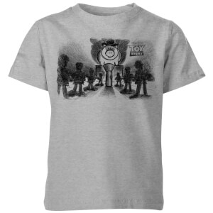Toy Story Evil Dr Pork Chop Speech Kids' T-Shirt - Grey