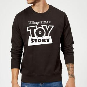 Toy Story Logo Outline Sweatshirt - Black