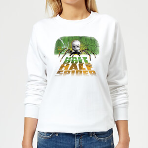 Toy Story Half Doll Half-Spider Women's Sweatshirt - White