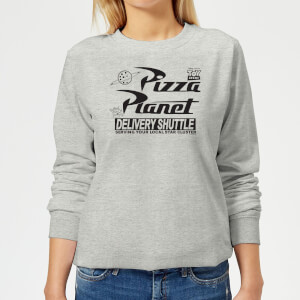 Toy Story Pizza Planet Logo Damen Pullover - Grau