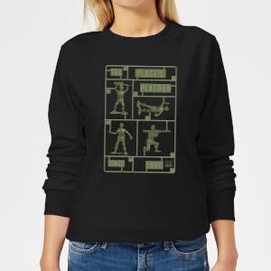 Toy Story Plastic Platoon Women's Sweatshirt - Black