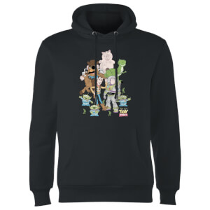 Toy Story Group Shot Hoodie - Schwarz