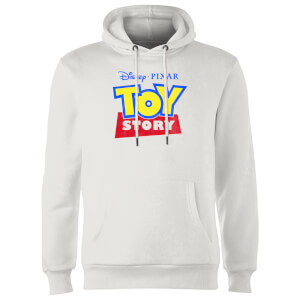 Toy Story Logo Hoodie - White