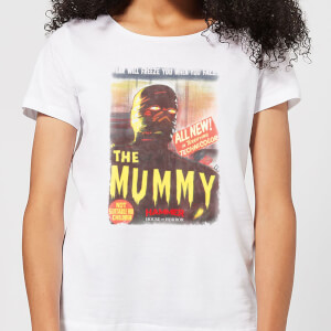 Hammer Horror The Mummy Women's T-Shirt - White