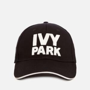 Ivy Park Women's Stacked Logo Baseball Cap - Black