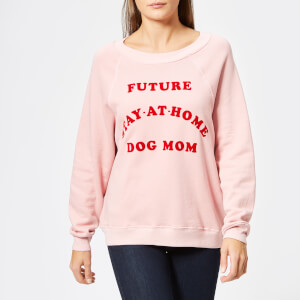 Wildfox Women's Dog Mum Sweatshirt - Taupe Rose