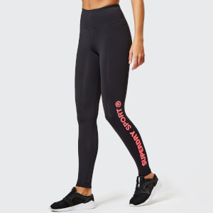 Superdry Sport Women's Core Essential Leggings - Black