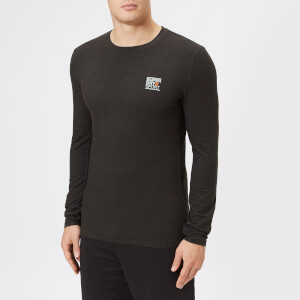 Superdry Sport Men's Core Long Sleeve Sign Off T-Shirt - Black