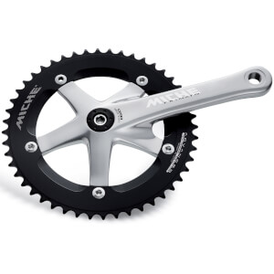 Miche Primato Advanced Track Chainset - Silver