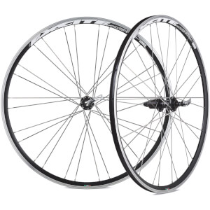 Miche Excite Wheelset - 700c - Black - Shimano