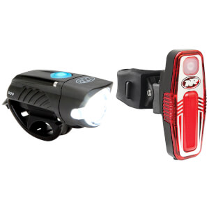 Niterider Swift 500 Front and Sabre 80 Rear Light Set