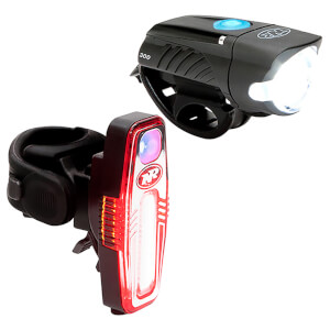 Niterider Swift 300 Front and Sabre 80 Rear Light Set