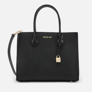 MICHAEL MICHAEL KORS Women's Mercer Large Convertible Tote Bag Lizard - Black