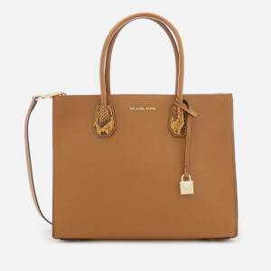 MICHAEL MICHAEL KORS Women's Mercer Large Convertible Tote Bag - Acorn