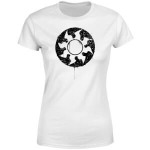 T-Shirt Magic The Gathering White Mana Splatter - Bianco - Donna