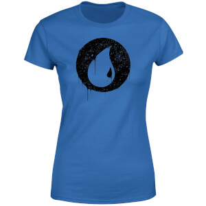 Camiseta Magic The Gathering Maná Azul - Mujer - Azul