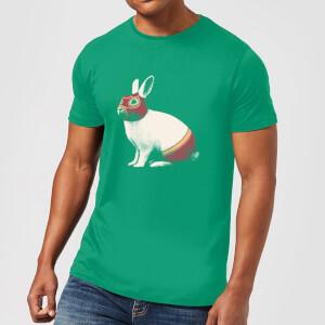 Florent Bodart Lapin Catcheur Men's T-Shirt - Kelly Green