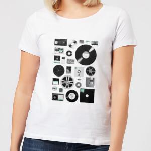 Florent Bodart Data Women's T-Shirt - White