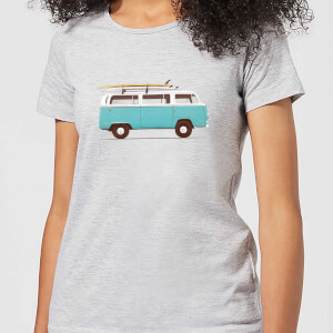 Florent Bodart Blue Van Women's T-Shirt - Grey