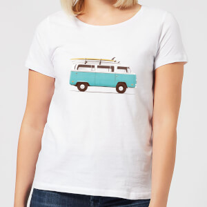 Florent Bodart Blue Van Women's T-Shirt - White