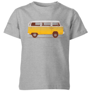 Florent Bodart Yellow Van Kids' T-Shirt - Grey