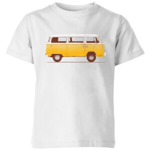 Florent Bodart Yellow Van Kids' T-Shirt - White