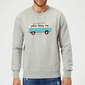 Florent Bodart Blue Van Sweatshirt - Grey