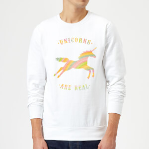 Florent Bodart Unicorns Are Real Sweatshirt - White
