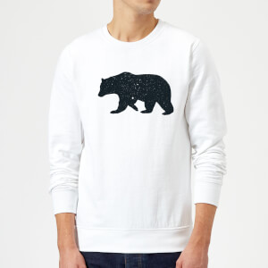 Florent Bodart Bear Sweatshirt - White