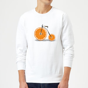 Florent Bodart Citrus Sweatshirt - White