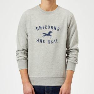 Florent Bodart Unicorns Are Real Sweatshirt - Grey