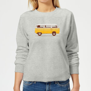 Florent Bodart Yellow Van Women's Sweatshirt - Grey