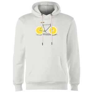 Florent Bodart Citrus Lemon Hoodie - White