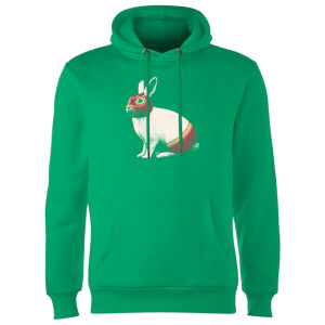Florent Bodart Lapin Catcheur Hoodie - Kelly Green