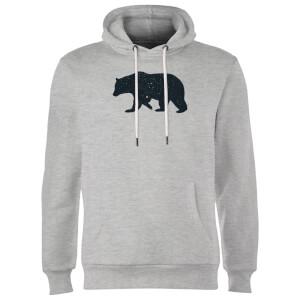 Florent Bodart Bear Hoodie - Grey