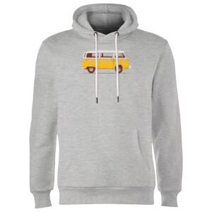 Florent Bodart Yellow Van Hoodie - Grey