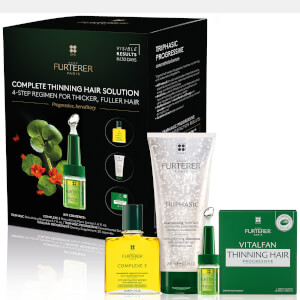 Rene Furterer Complete Thinning Hair Solution 4-Step Kit - Progressive, Hereditary - US