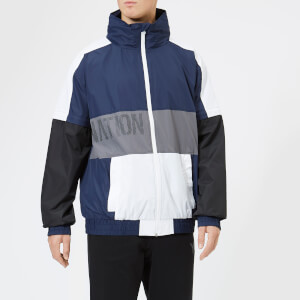 P.E Nation Men's The Relay Set Jacket - Navy/White/Black