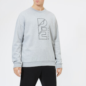P.E Nation Men's Smash Success Sweatshirt - Grey Marble