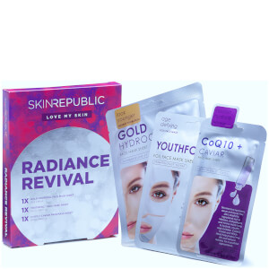 Skin Republic Radiance Revival Gift Set (3 Piece) (Worth £20.97)