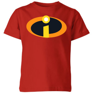 Incredibles 2 Logo Kinder T-shirt - Rood