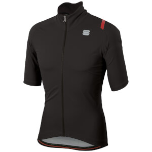 Sportful Fiandre Ultimate 2 Wind Stopper Jersey - Black