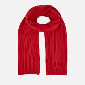 Tommy Hilfiger Men's Pima Cotton Scarf - Red