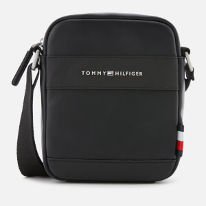 Tommy Hilfiger Men's City Mini Reporter Bag - Black